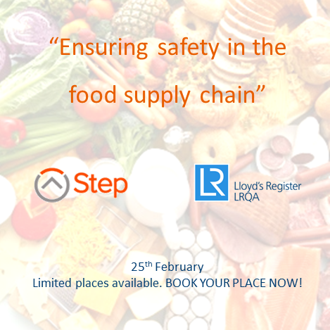 Ensuring safety in the food supply chain